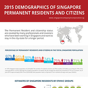 2015 Demographics of Singapore PR and Citizens