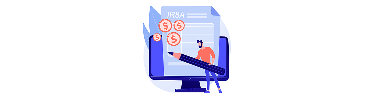 submitting an IR8A in IRAS