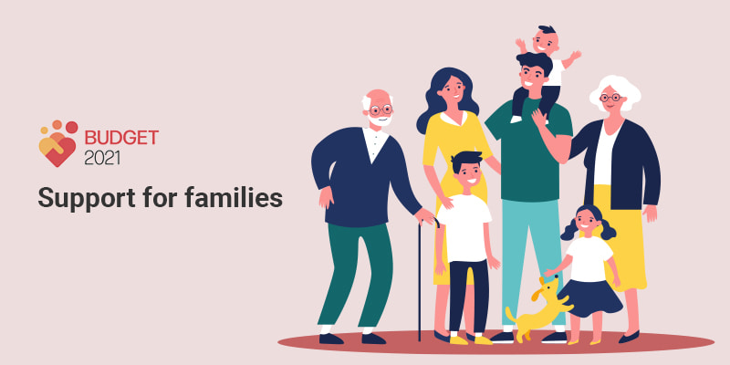 Support for families in Singapore Budget 2021