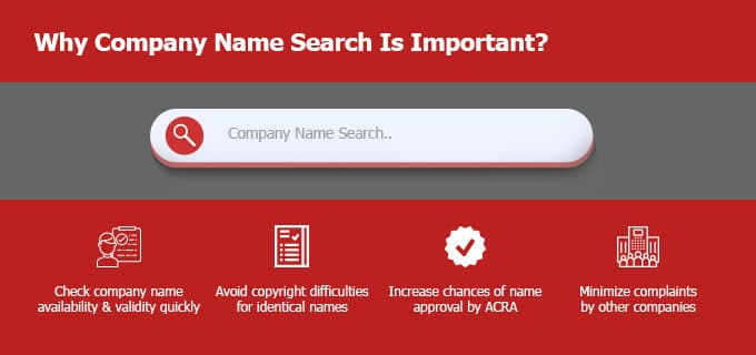 Why Company Name Search in Singapore Is Important
