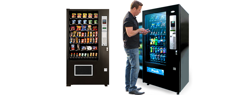 Operate vending machines