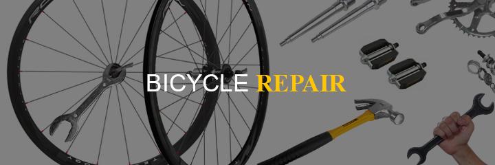 Rent and store bicycle repair