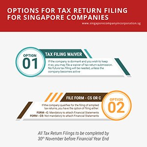 Guide to Filing Your Singapore Company Tax Returns