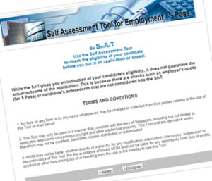 self assessment tool 300x257 comprehensive guide to singapore employment pass