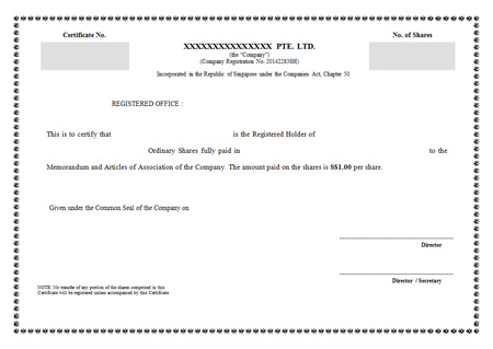 How To Form A Singapore Private Limited Company