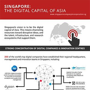 singapore Digital capital of india