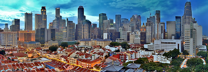 singapore-skyline 4 Factors that Make Singapore an Extremely Viable Destination for New Businesses