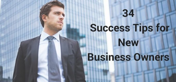 success tips for new business owners