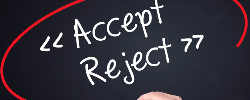use rejection as motivation